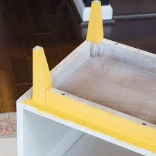 retro nightstand makeover decoart satin enamels honey gold