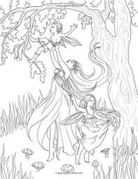 fairy mermaid coloring pages mermaid coloring page 30 coloring pages for me u0026 my kids u003c3