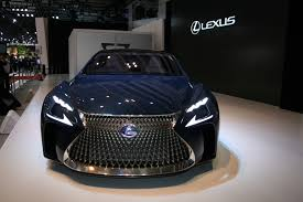 lexus lf lc black hydrogen powered lexus lf fc concept previews next gen ls flagship