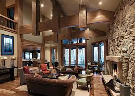 great room layouts great room layout living room rustic with wood floor mahogany