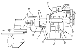 patent us7318761 marine stern drive and multi speed transmission