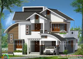 all mix roof house plan by zabir ehsan associates kerala home