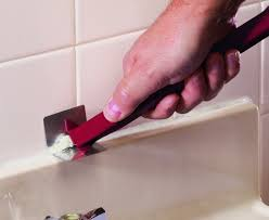 how to caulk a bathroom sink how to remove old caulk from your bathtub or sink