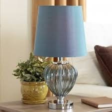 Colored Glass Table Lamps Navy Blue Table Lamp Foter