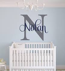 Wall Decorating Unique Baby Boy Nursery Themes And Decor Ideas Involvery