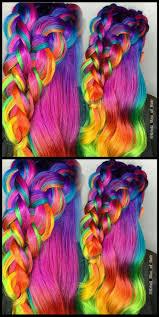 best 20 rainbow hair ideas on pinterest dyed hair underneath