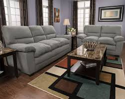 The Brick Furniture Kitchener by Peyton Microsuede Sofa Grey The Brick