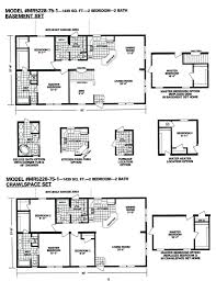 Schult Modular Home Floor Plans by Single Wide Mobile Home Floor Plans 713ct Single Wide Mobile Home