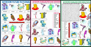 Bathroom Png Bathroom Esl Printable Worksheets And Exercises