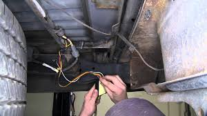 installation of a trailer wiring harness on a 2000 nissan frontier