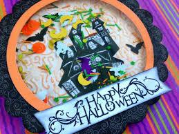 halloween shaker card tutorial halloween craft series 2014 1