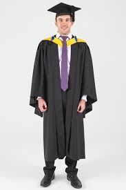 graduation robe macquarie bachelor graduation gown set business and