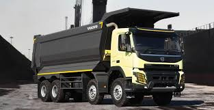 volvo commercial vehicles volvo fmx 8x4 coal tipper