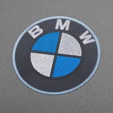 Greece Flag Emoji Bmw Logo Embroidery Design 2 Inch