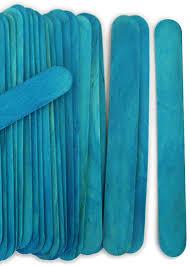 wholesale lollipop sticks jumbo blue craft sticks craftysticks wholesale craft
