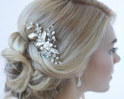 hair accessories for wedding wedding hair accessories etsy