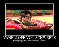 Vanellope Von Schweetz Meme - wreck it ralph motivational poster 2 by pokemariofan14 on deviantart