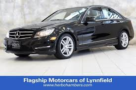 mercedes herb chambers used 2014 mercedes c class for sale near boston near