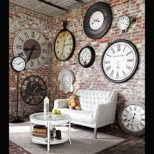 create an elegant statement with a white brick wall industrial