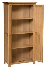 Solid Wood Bookcases With Glass Doors Furniture Storage Bookcase 36 Inch Wide Bookcase With Doors