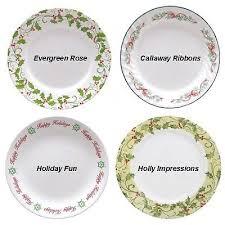 corelle christmas holiday dinnerware ebay