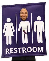 transgender bathroom sign costume costume agent