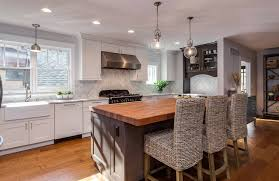 clear glass floor l kitchen white painted recessed panel plywood l shaped transitional