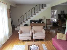 ideas cool living room with stairs and kitchen interior design