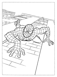 coloring page spiderman 3 coloring pages 5
