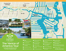 Intracoastal Waterway Map Fort Lauderdale Riverfront Cruises Sightseeing Boat Tour
