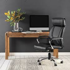 Office Desk With Chair by Work From Home Silverwood Desk 449 95 Harvard Office Chair