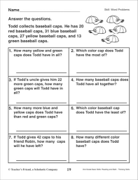 word problems for 2nd grade common core 2nd grade 3rd math