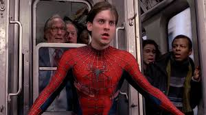 spider man train scene walyou