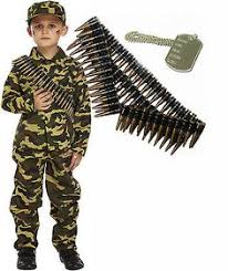 Boys Army Halloween Costume Boys Playing Army Boy U0027s Army Ranger Costume Kit