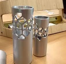 Aluminium Vases Aluminium Latice Vase Max Betteridge Design