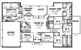 symmetrical house plans arnolds cove luxury home plan 115d 0001 house plans and more