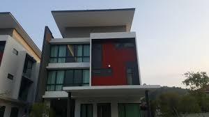 3 storey new bungalow seksyen u10 shah alam next to setia eco park