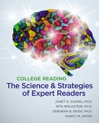 college reading the science and strategies of expert readers 1st
