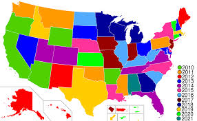 Map Of United States States by Amazoncom 50 State Commemorative Quarters Collectors Map