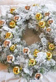 diy wreaths diy flocked wreath hometalk