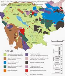 Map Of Cambodia Cambodia Geological Map