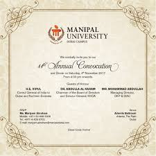 11th annual convocation manipal academy of higher education dubai