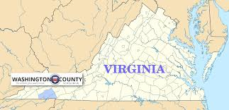 Washington County Map by Historical Society Of Washington County Virginia History Of