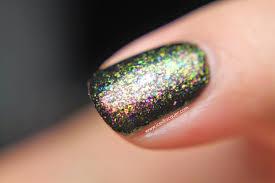 ultrachrome flakies copper gold green ucc flakies boii nail