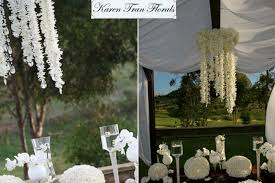 Chandeliers For Less by Get The Wedding Look For Less The Look For Less Floral Chandeliers