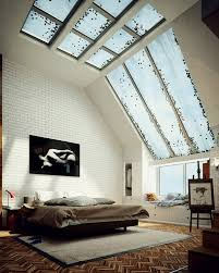 skylight design attic bedroom skylight designs