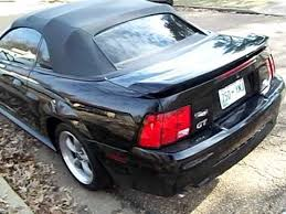 2003 Black Mustang Black Ford Mustang Gt V8 Convertible Youtube
