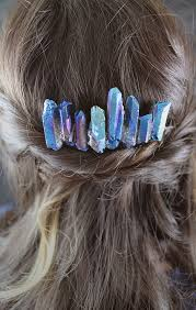 hair crystals diy lightsaber crystals hair comb e rad s cantina