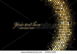 vector frame background gold lights stock vector 219047299