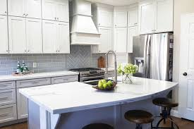 gray glazed white kitchen cabinets colonial ii maple bright white brushed gray glaze framed